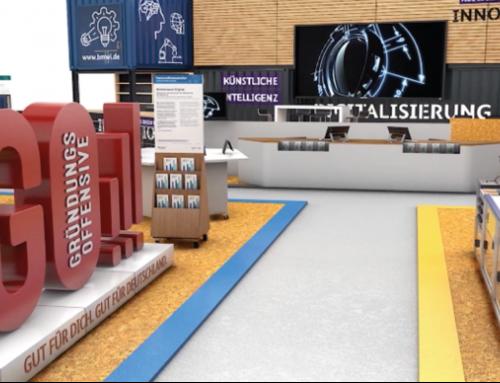 "01.04.2019, Hannover Messe – ""Digitale Gesundheitsversorgung im Praxistest"""