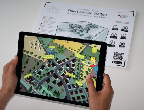 """DACE as part of the """"Smart Service Welten in AR"""" App"""