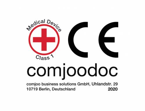 comjoodoc has Received the CE-Certificate as a Medical Software